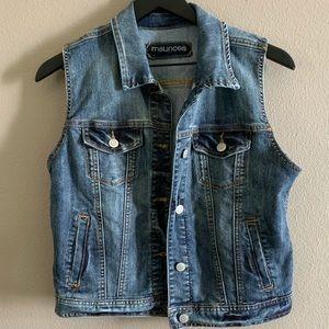 Jean jacket vest 🌻